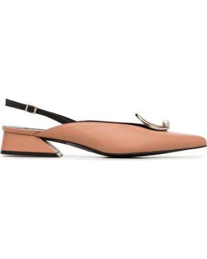 Туфли-лодочки с открытой пяткой с пряжкой Yuul Yie