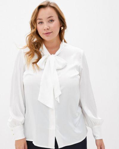 Белая блузка с бантом Gamelia
