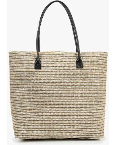 Пляжная сумка соломенная бежевый Venera