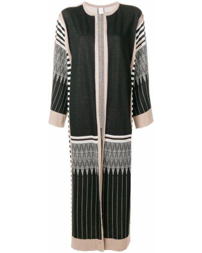 Пальто белое черное Chirazi