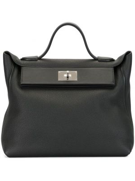 Кожаная сумка сумка-тоут с ручками Hermès