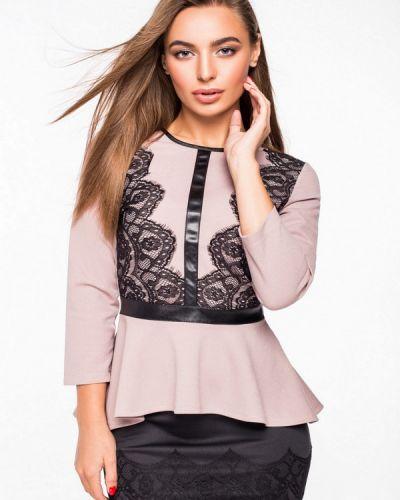Блузка с рюшами розовая Itelle