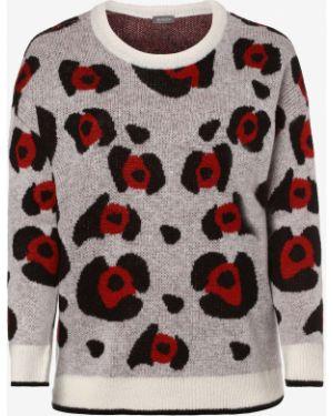 Czerwony sweter moherowy Samoon