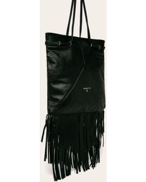 Skórzana torebka z uchwytem długo Patrizia Pepe