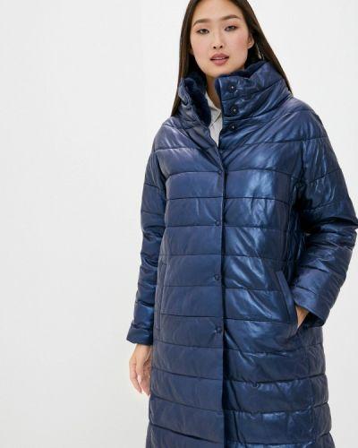 Кожаная синяя кожаная куртка снежная королева