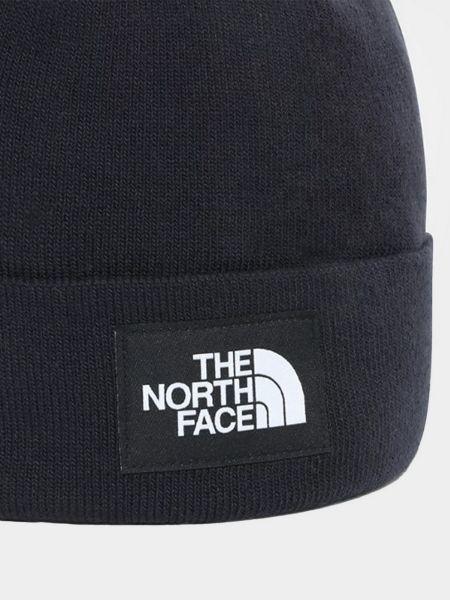 Шапка бини - синяя The North Face