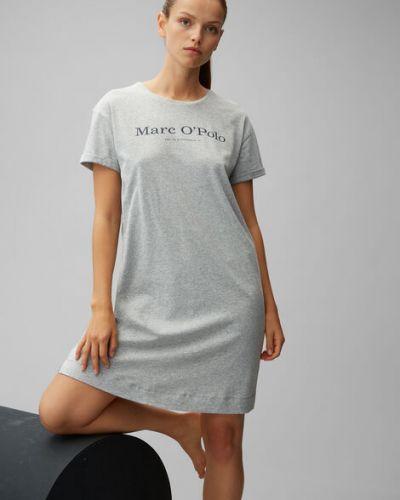 Bawełna bawełna t-shirt z haftem Marc O Polo