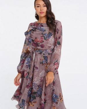 Вечернее платье - фиолетовое Eva