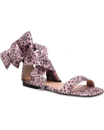 Różowe sandały casual Pollini