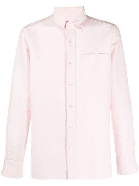 Koszula z długim rękawem klasyczna z kieszeniami Tom Ford