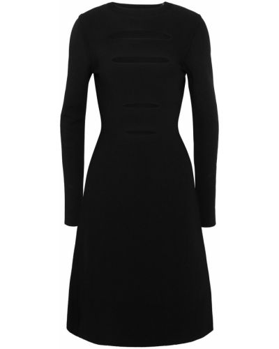 Расклешенное платье - черное Narciso Rodriguez