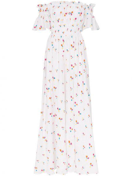 Платье макси на тонких бретелях льняное All Things Mochi