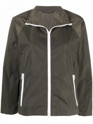 Зеленая нейлоновая куртка Mackintosh