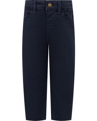 Хлопковые синие брюки Mayoral