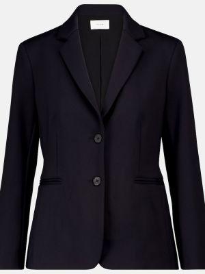 Однобортный черный пиджак The Row