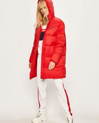 Куртка с капюшоном оверсайз с карманами Fila