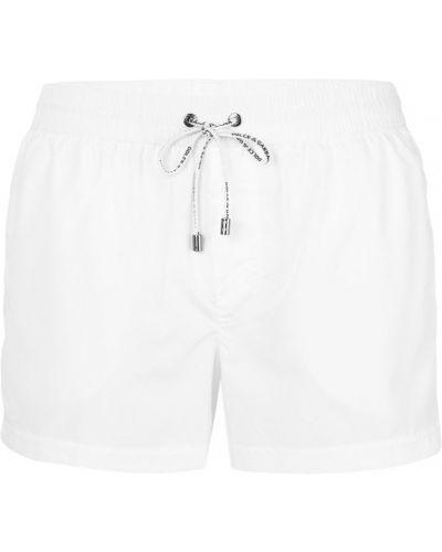 Белые плавки Dolce & Gabbana