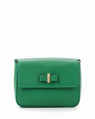 Зеленая сумка через плечо Eleganzza