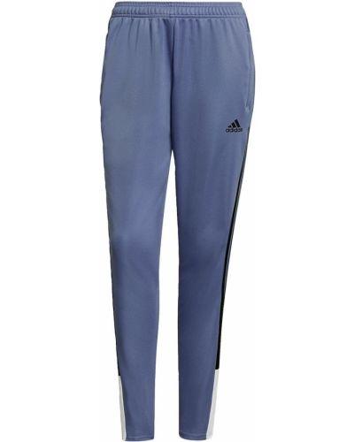 Fioletowy klasyczny dres Adidas