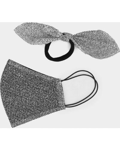 Серебряная резинка для волос на резинке Lukashykkatherinelk