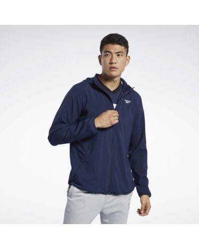Тренировочная олимпийка с капюшоном для фитнеса Reebok