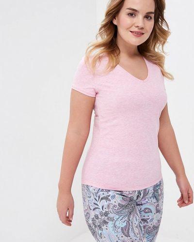 Розовая футболка домашняя Лори