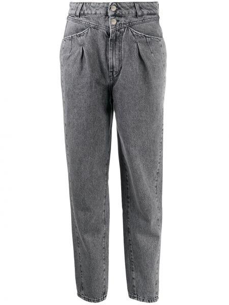 С завышенной талией черные джинсы с высокой посадкой с карманами с заплатками Iro