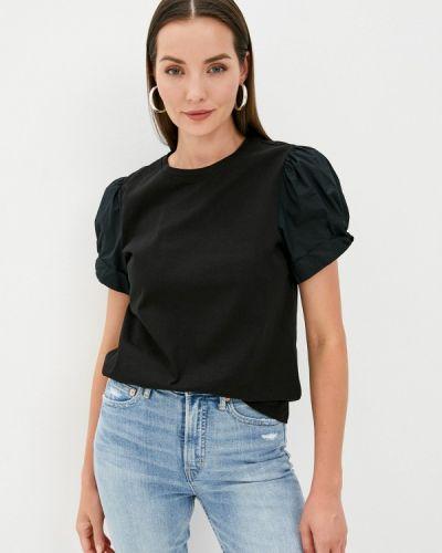 Черная футболка с короткими рукавами Gap