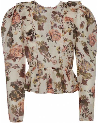 Beżowa koszula Ulla Johnson
