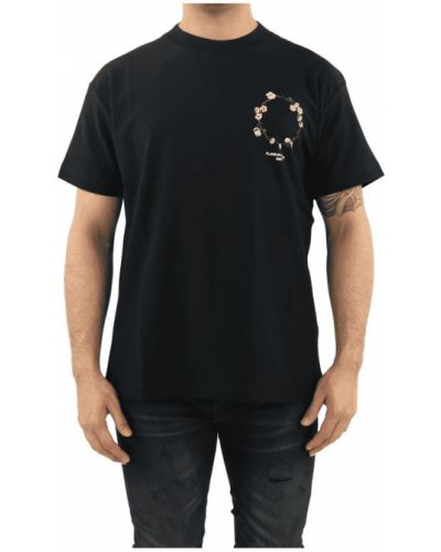 Czarny t-shirt Flaneur Homme