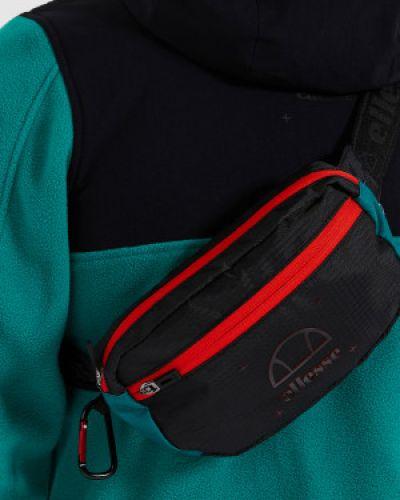 Черная поясная сумка с поясом Ellesse