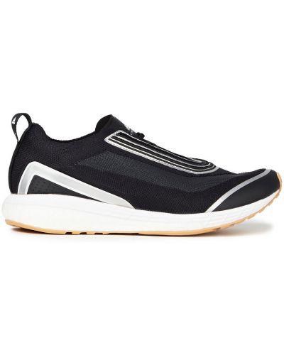Кожаные кроссовки - черные Adidas By Stella Mccartney
