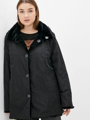 Утепленная куртка - черная Sophia