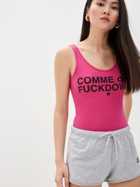 Боди - розовое Comme Des Fuckdown