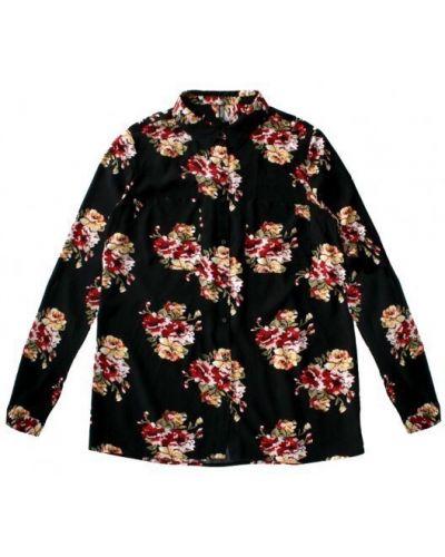 Рубашка - черная Moodo
