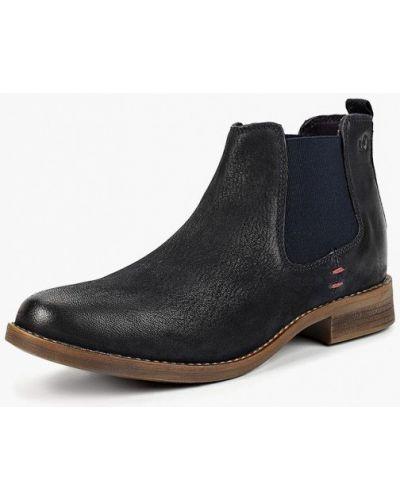 Ботинки челси кожаные осенние S.oliver