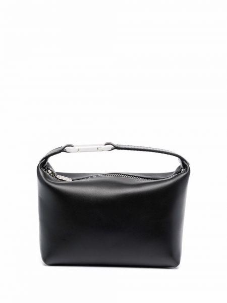 Czarna torebka skórzana Eera