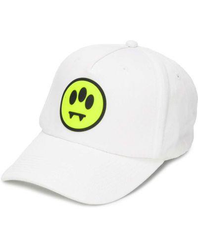 Bawełna bawełna biały czapka z daszkiem z haftem Barrow