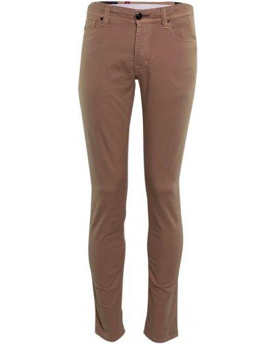 Brązowe mom jeans Tramarossa