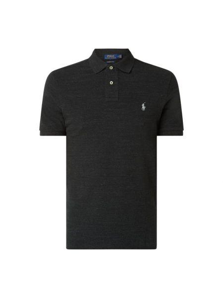 Bawełna bawełna czarny t-shirt Polo Ralph Lauren