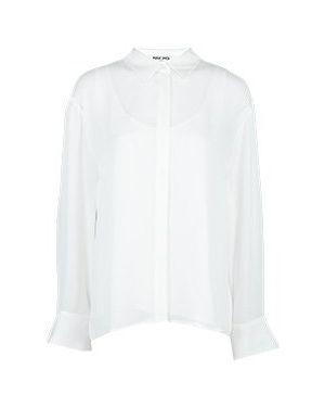 Белый костюмный костюм Max & Moi