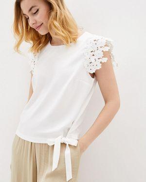 Блузка белая весенний Zubrytskaya