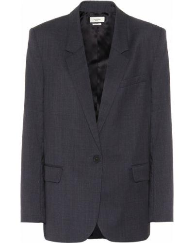 Синий пиджак Isabel Marant étoile