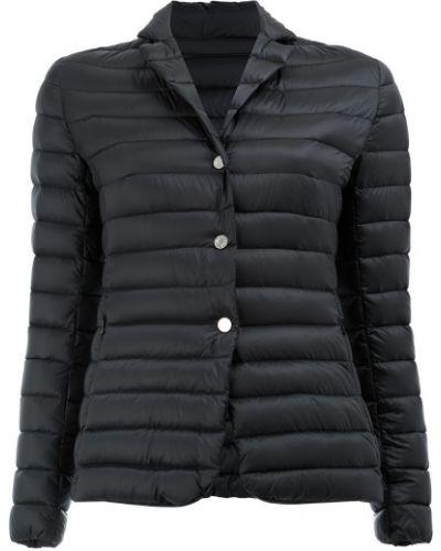 Стеганая куртка длинная укороченная на пуговицах Moncler
