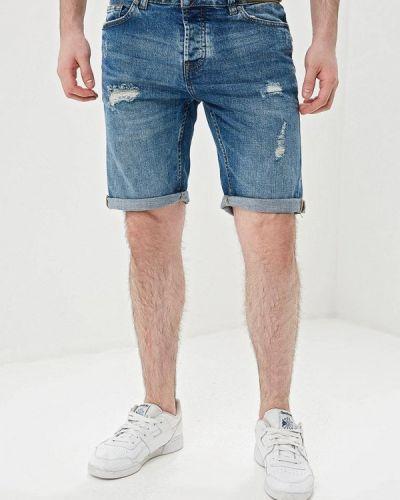 Джинсовые шорты синий Only & Sons