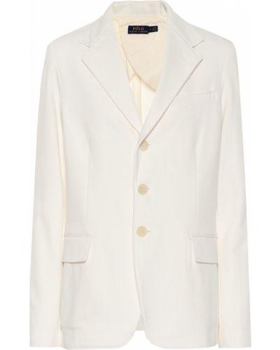 Пиджак в клетку белый Polo Ralph Lauren