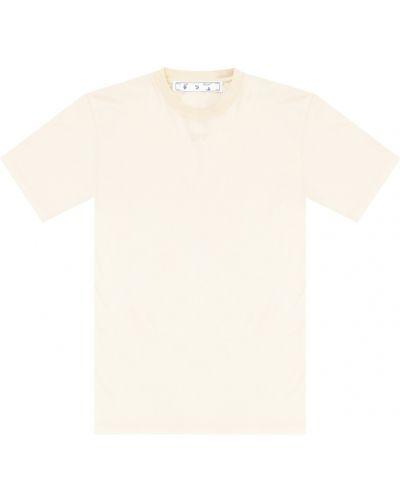 Beżowa podkoszulka Off-white