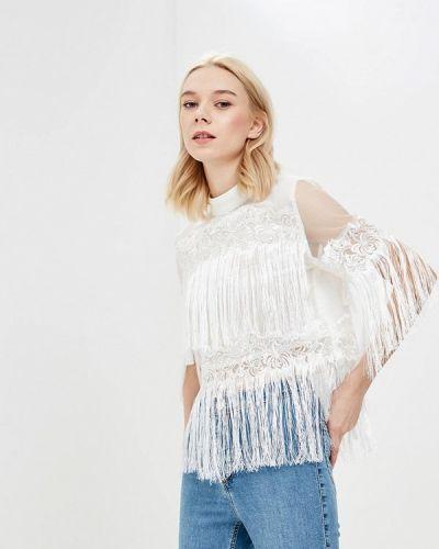Белая блузка кружевная Glamorous