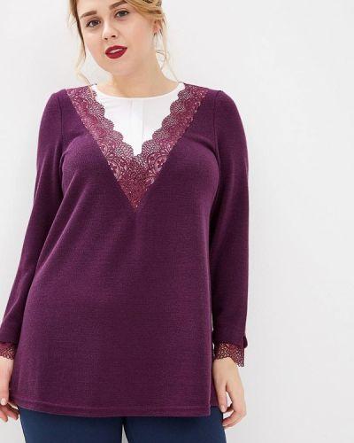 Блузка с длинным рукавом бордовый красная Averi
