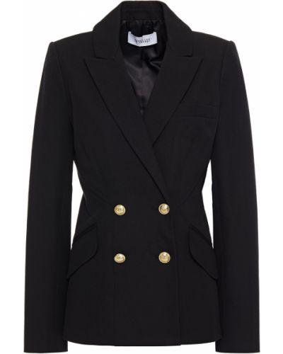 Черный пиджак двубортный с карманами Derek Lam 10 Crosby